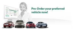 Pre-Order  your wanted car
