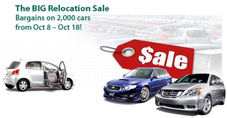 Big Relocation Car Sale in New Zealand