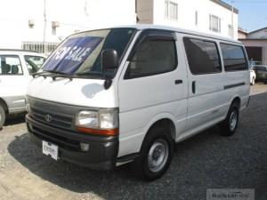 Toyota diesel van